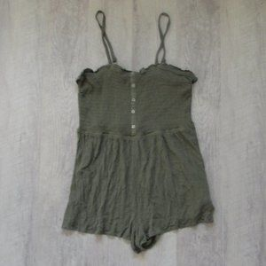 Wild Fable Army Green Romper Size XXL